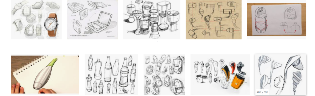 Product Sketching for mechanical